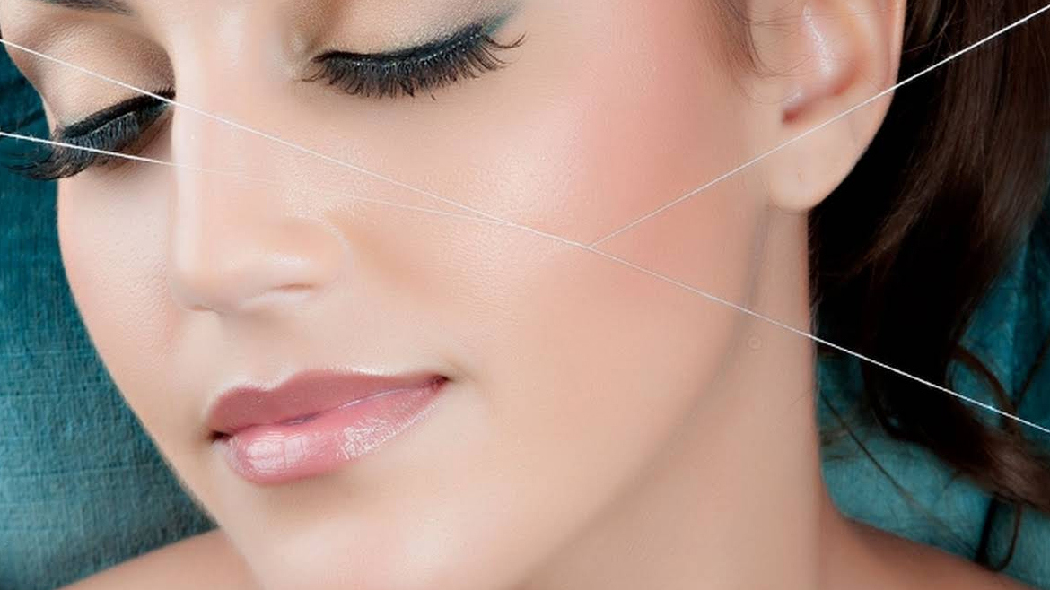 Sides of Face Threading